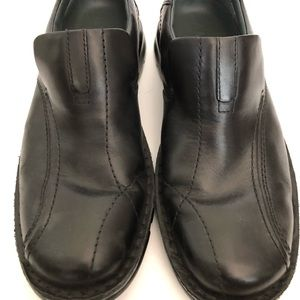 Clarks Escalade Loafers Men's Size 10 Black Shoes